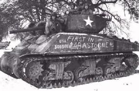 First in Bastogne