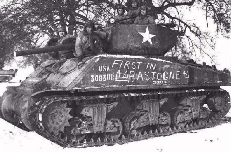 First in Bastogne