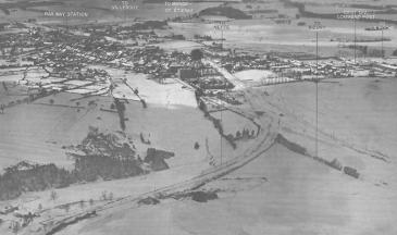 Aerial picture Bastogne